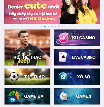 Giao diện game của Kubet